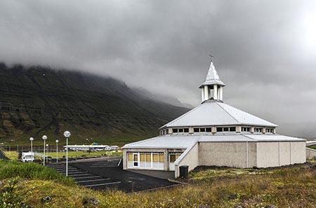 Kirche von Eskifjördur