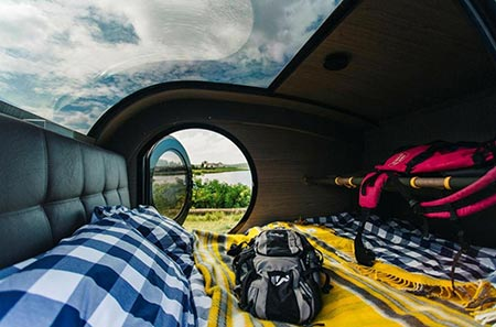 Island Reisen Interior Space Camper