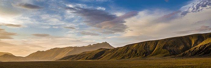 Wolkenformation bei Landmannalaugar