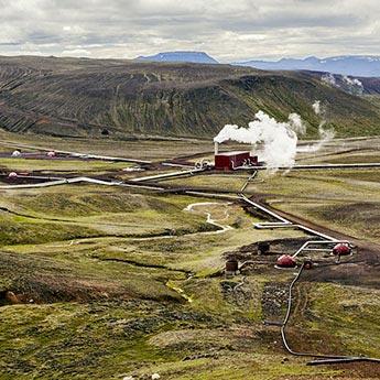 Geothermales Kraftwerk Krafla