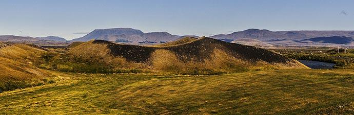 Island-Reisen Pseudokrater am Mývatn