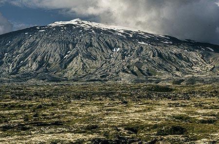 Südflanke des Snaefellsjökull