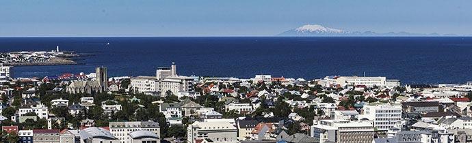 Snaefellsjökull von Reykjavík aus