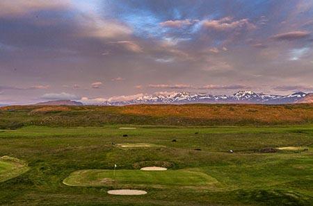 Golfplatz von Stykkishólmur