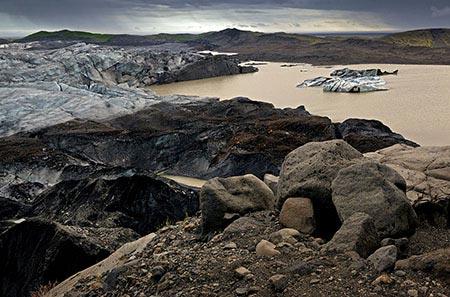 Endmoräne des Vatnajökull