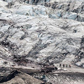 Gletscherwanderung am Vatnajökull