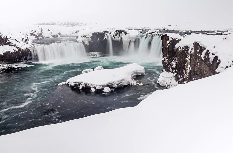 Goðafoss – der Wasserfall der Götter
