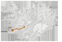 Reykjavík & Golden Circle: Islandkarte