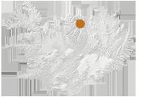 Reiten im Mittsommer: Islandkarte