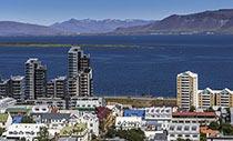 Island Kurzreise Blick auf Reykjavik
