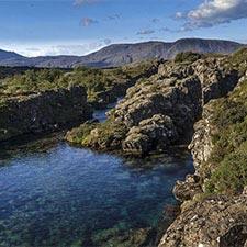 Island Kurzreise Wasser des Þingvallavatn