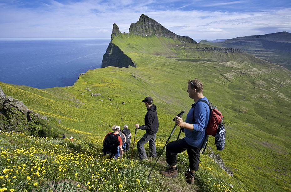 Outdoor-Abenteuer Westfjorde: Bucht von Hornvík