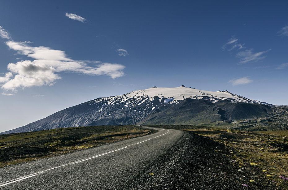 Islandreise: Snæfellsjökull