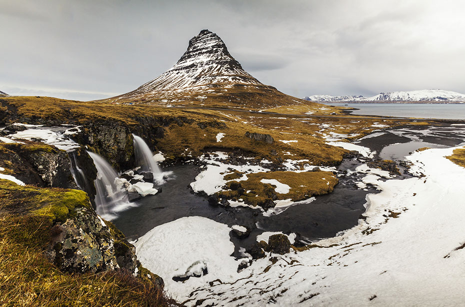 Polarlicht-Expedition Island: Kirkjufell