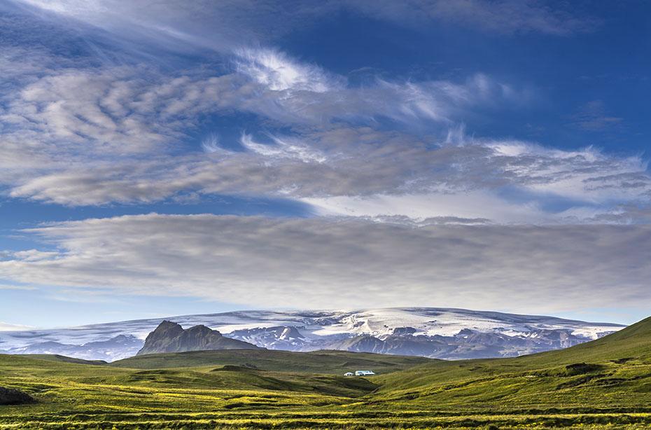 Islands wunderbarer Süden: Mýrdalsjökull