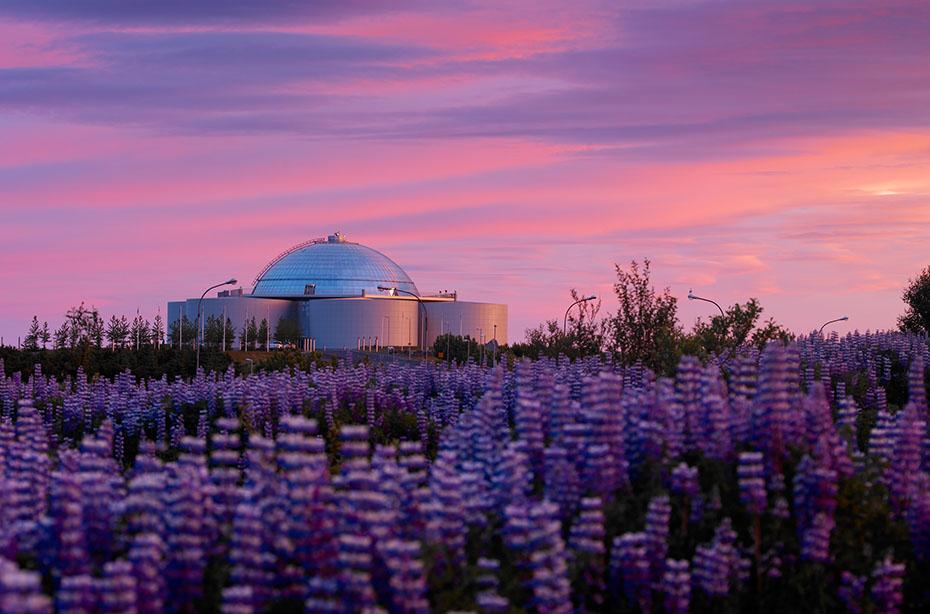 Jahreswechsel auf Isländisch: Perlan in Reykjavík
