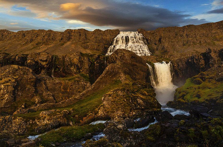 Islandreisen Wasserfall Dynjandi