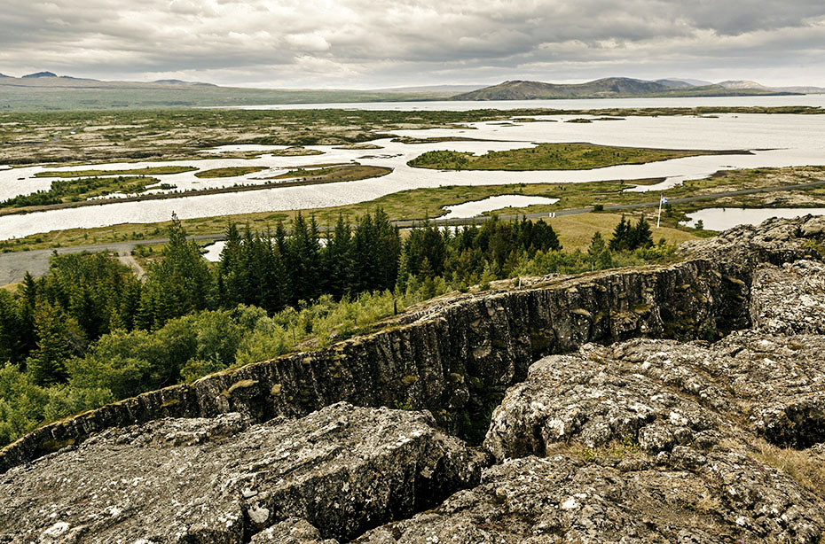 Islandreisen Þingvellir Nationalpark