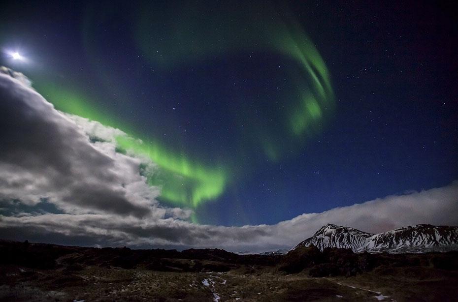 Super Jeep Winter-Tour: Polarlichter