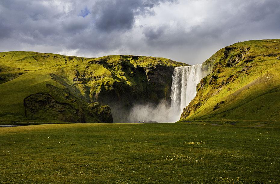 Wanderabenteuer auf Island: Skógafoss