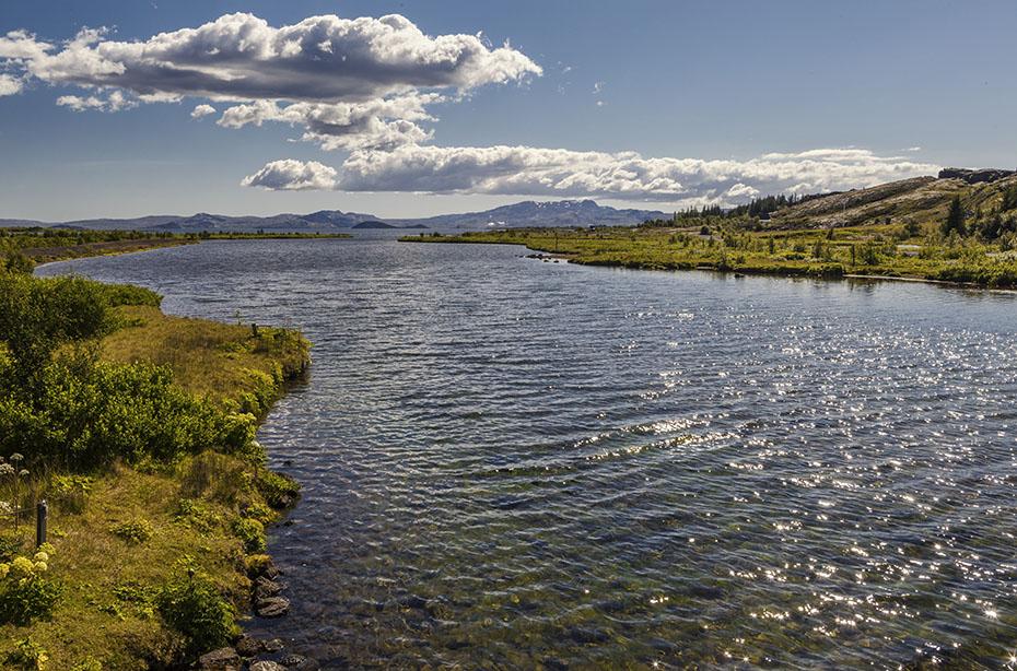 Westfjorde & Hochland: Þingvallavatn im Þingvellir-Nationalpark