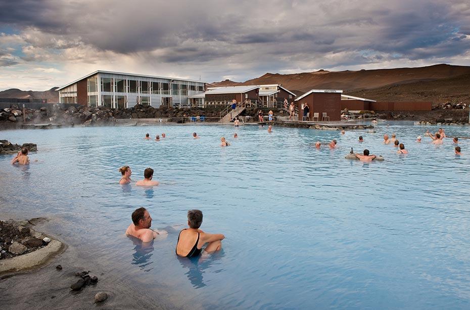 Island Islandreisen Mývatn-Naturbad