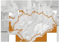 Island Rundreise Islandkarte