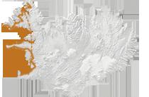 Outdoor-Abenteuer Westfjorde: Islandkarte