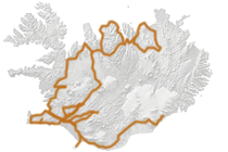 Das Beste von Island 2017: Islandkarte