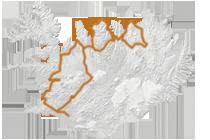 Islands wunderbarer Norden: Islandkarte