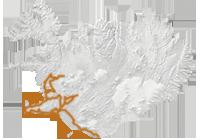 Island Exkursion im Herbst: Islandkarte