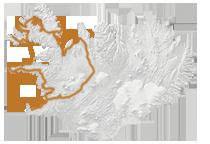 Islandkarte Reiseroute