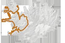 Westfjorde & Hochland 2016: Islandkarte