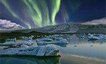 Polarlicht-Expedition Polarlichter über Island