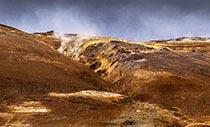 Namafjall im Norden Islands