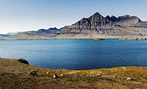 Geheimnisvoller Osten Fjord im Osten Islands