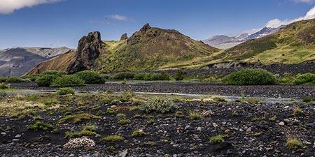 Wandern wie die Wikinger: Tal von Goðaland