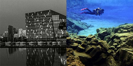 Island Kurzreise Silfra Spalte