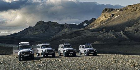 Westfjorde & Hochland: Super Jeeps