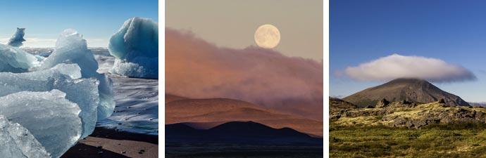 Islandreisen: Jökulsárlón Mödrudalur Myvatn