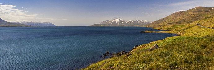 Reiten im Mittsommer: Eyjafjörður