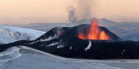 Eruption des Eyjafjallajökull 2010
